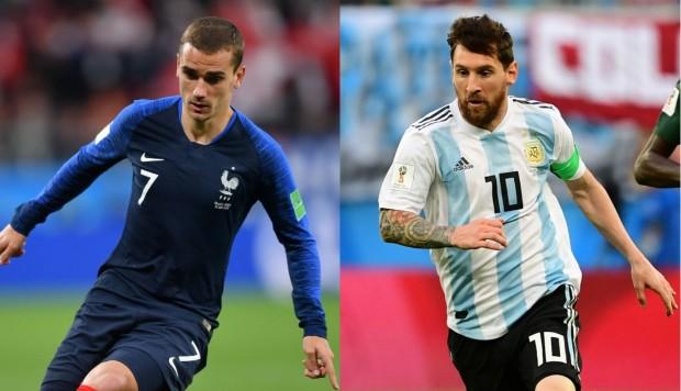 #Mundial2018: Argentina enfrenta a Francia, buscando su clasificación a cuartos de final