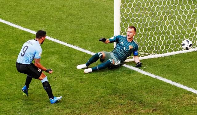 #Mundial2018: Uruguay goleó a Rusia y se quedó con la cima del grupo A