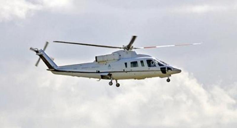 Aterrizó de emergencia el helicóptero que llevaba a parte de la comitiva presidencial