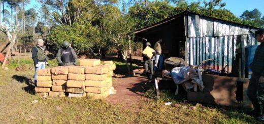 Golpe al narcotráfico: Gendarmería incautó más de tres toneladas de marihuana y detuvo a dos personas en Eldorado