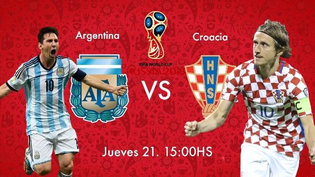 #Mundial2018: Croacia gana 3-0 a Argentina
