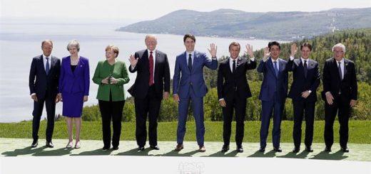 """El G7 defendió """"reglas comerciales colectivas"""" y denunció el proteccionismo"""
