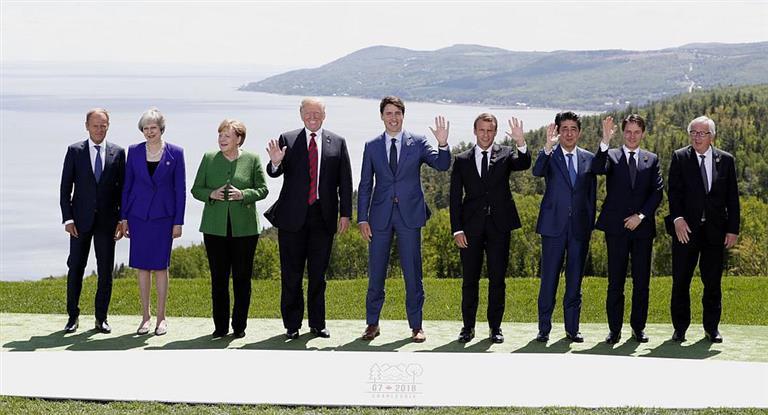 El G7 defendió «reglas comerciales colectivas» y denunció el proteccionismo