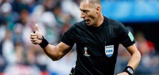 #Mundial2018: Pitana fue designado para arbitrar Suecia vs México