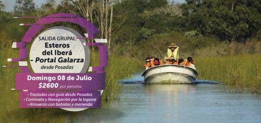 Imperdible excursión por los Esteros del Iberá con salida grupal desde Posadas