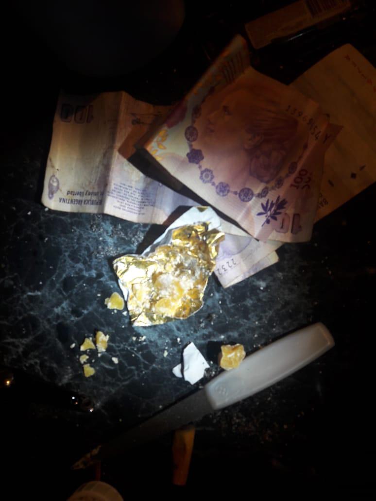 Andresito: la Policía desarmó otro «Kiosco» y halló pasta base dentro de un colchón