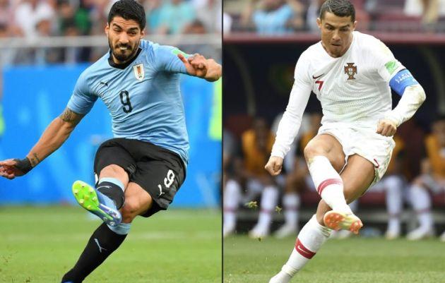 #Mundial2018: Uruguay vs Portugal, el otro gran partido de hoy