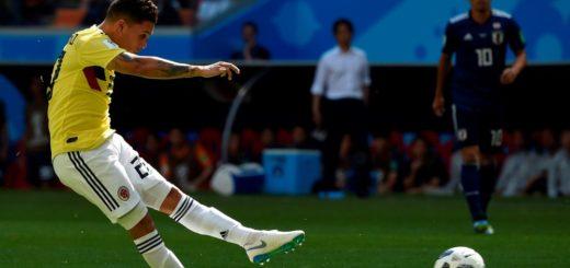 #Mundial2018: Con uno menos, Colombia empata contra Japón al término del primer tiempo