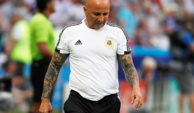 #Mundial2018: Sampaoli: «No evalúo dar un paso al costado»