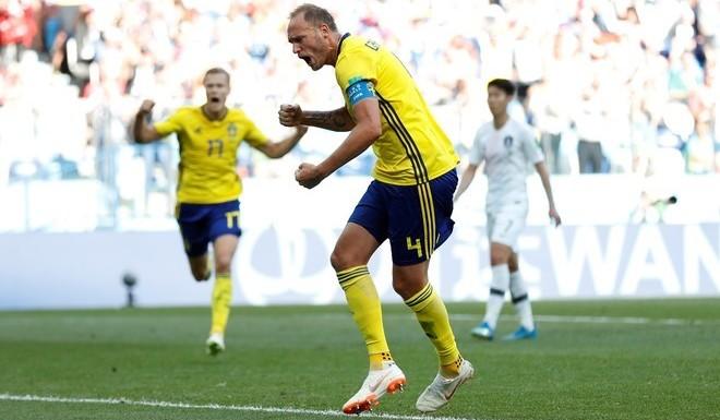 #Mundial2018: Suecia venció a Corea del Sur y alcanzó la punta del grupo F