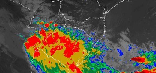 Áreas de inestabilidad están provocando lluvias y tormentas de variada intensidad en Misiones