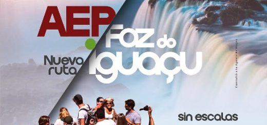 Andes unirá Buenos Aires con Foz de Iguazú desde julio