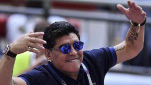 #Mundial2018: Maradona cree que puede ser la Copa del Mundo de Inglaterra