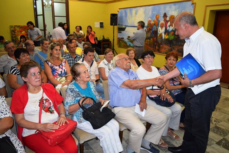 Arce destacó que entre la ventana jubilatoria y la moratoria previsional del IPS se llegará a más de 6.400 afiliados