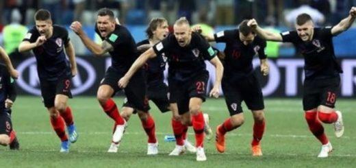 #Mundial2018: Croacia sufrió pero ganó por penales a Dinamarca y clasificó a cuartos de final