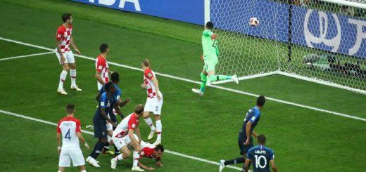 #Mundial2018: Francia gana la final con un gol en contra de Mandzukic