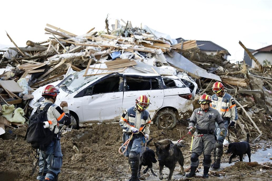 Más de 150 muertos por las peores lluvias en décadas en Japón