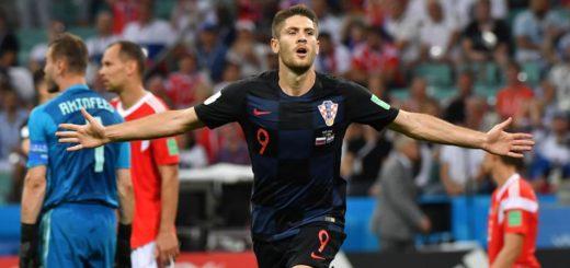 Rusia igualó 2-2 a Croacia con gol de Fernández