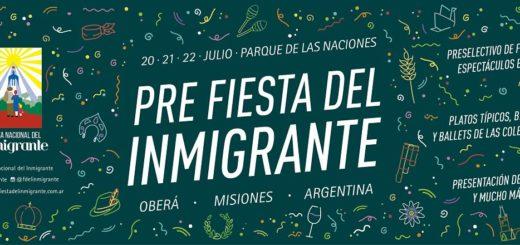 Continúa la recorrida por las Colectividades en la Pre Fiesta del Inmigrante