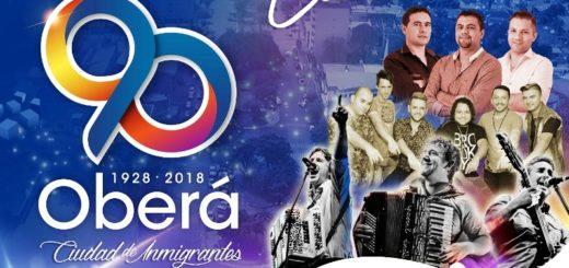 Festejos y varias actividades en el marco de los 90 años de Oberá