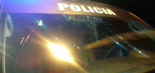 Violento  desorden vecinal dejó un policía herido y móviles dañados en la chacra 181 de Posadas