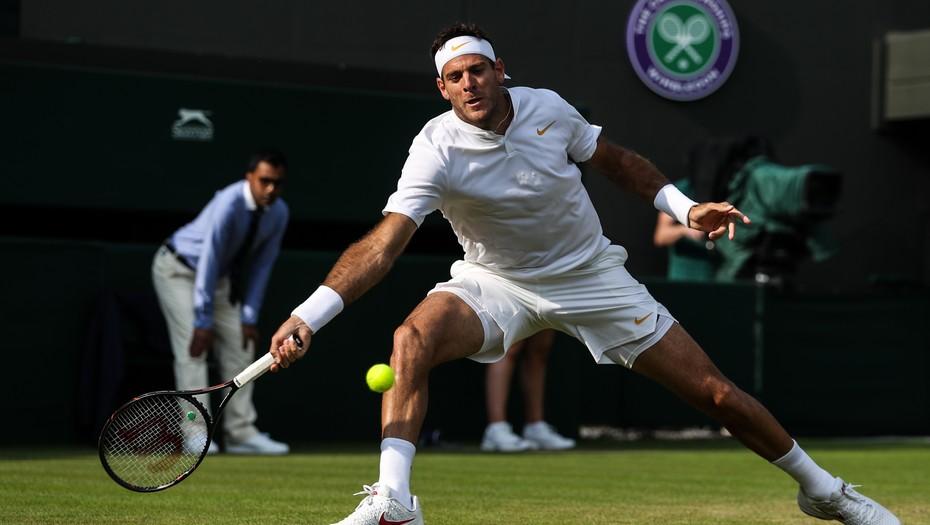 Juan Martín del Potro busca el pase a octavos de final de Wimbledon