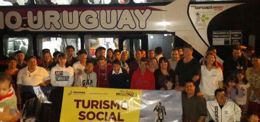 """Ganadores del torneo barrial """"El Turismo es un derecho"""" viajaron este domingo a Córdoba"""