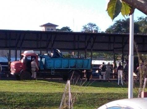 Interceptaron un camión cargado con marihuana que salía de la costa de Posadas: hablan de más de dos toneladas