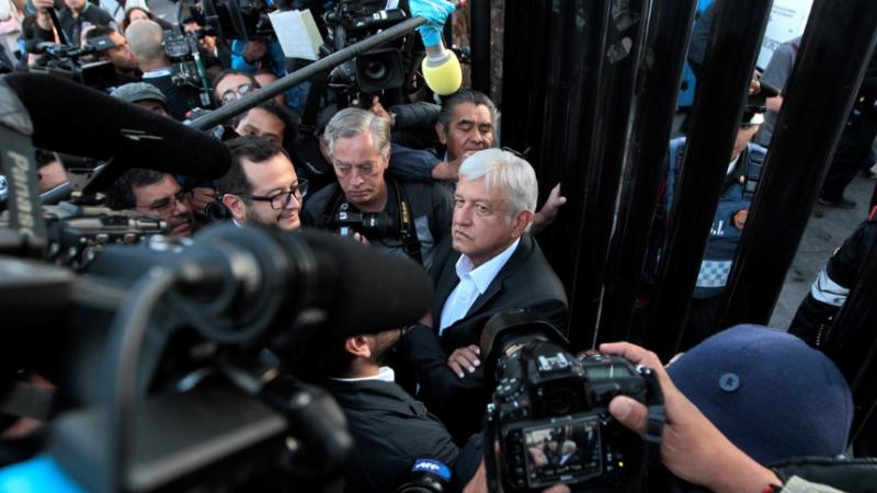 Elecciones en México: el centroizquierdista López Obrador, al frente de la boca de urna