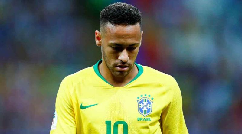 """#Mundial2018: el descargo de Neymar tras la eliminación de Brasil, «es el momento más triste de mi carrera"""""""
