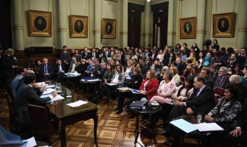 Arrancan las audiencias sobre el proyecto de legalización del aborto en el Senado