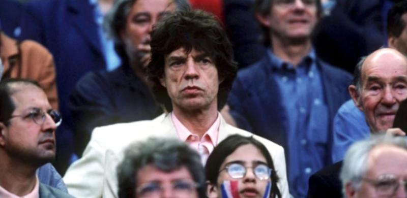 """#Mundial2018: Mick Jagger  estuvo presente en el partido que Inglaterra cayó ante Croacia y reflotó el fantasma de la """"maldición"""""""