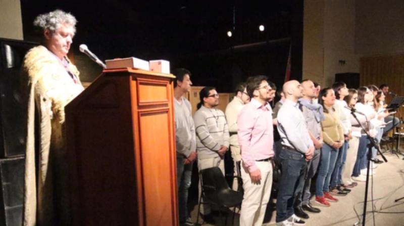 Exposición generó polémica en Santa Fe: con pañuelos verdes y desnudos bailaron frente a las imágenes de la Virgen y el papa Francisco