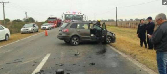 Llevó a su ex mujer en el auto y quiso matarla chocando contra un camión: «Acá nos vamos a morir los dos»
