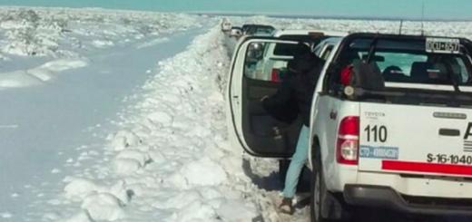 En Neuquén hay rutas bloqueadas por la intensa cantidad de nieve