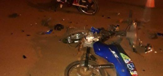 Colisión entre motocicletas dejó como saldo dos jóvenes hospitalizados en Guaraní