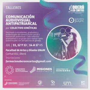 Oberá en Cortos 2018: La comunicación audiovisual antipatriarcal será eje de un taller