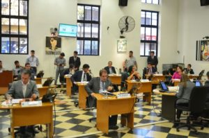 Concejales tratan de aunar criterios sobre el acta que resigna recursos de la municipalidad