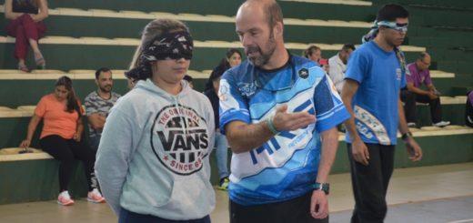 Jardín América: dictaron curso para la inclusión de personas con discapacidad en el deporte y la escuela