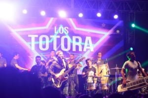 Los Totora homenajearon a la cumbia en Posadas