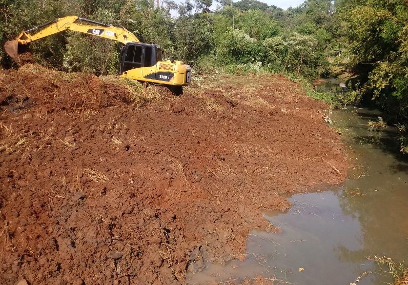 Proyecto en la cuenca del Arroyo Mártires se encuentra realizado un 90%