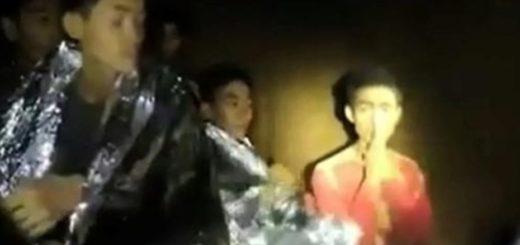 Rescate contrarreloj: un chico sin nacionalidad, el vocero de los atrapados en la cueva en Tailandia