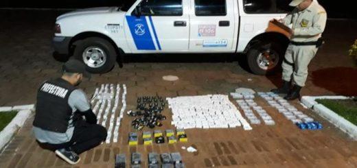 Decomisaron mercadería ilegal valuada en más de 500 mil pesos en Iguazú