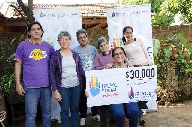 Con el cheque de IPLyC Inclusivo comprará un lavarropas