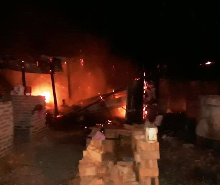 Incendio dejó daños totales en una vivienda en Garupá