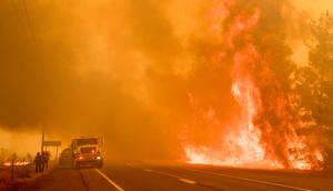 Incendios forestales obligan a evacuaciones y declaran la emergencia en el Norte de California