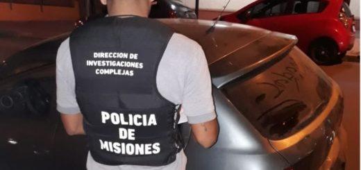 La Policía secuestró en Posadas un auto robado en Buenos Aires