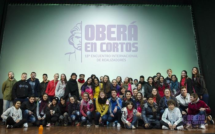 Oberá en Cortos 2018: Más de 200 niños y niñas participaron del Cine Joven Comunitario