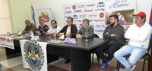 Se presentó el rally de Leandro N. Alem