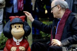 La polémica por la despenalización del aborto llegó a Mafalda: Quino se manifestó a favor de los derechos y reivindicaciones de las mujeres